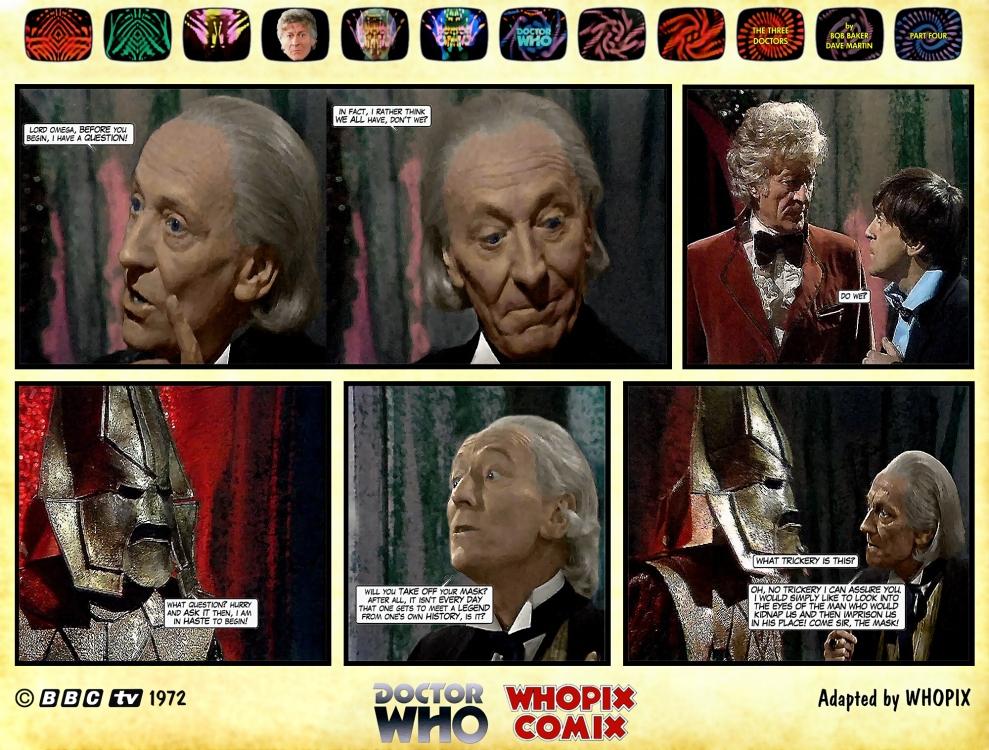 doctor who three doctors comic strip 4.06