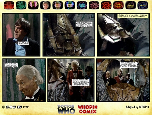 doctor who three doctors comic strip 4.07