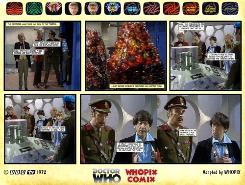doctor who three doctors comic strip 4.09