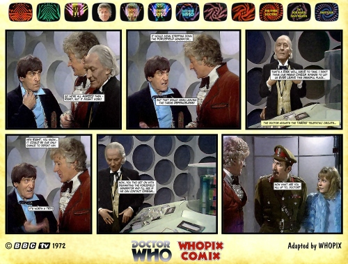 doctor who three doctors comic strip 4.11