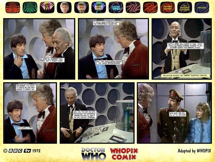 doctor who three doctors comic strip 4.11
