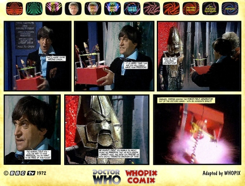 doctor who three doctors comic strip 4.19