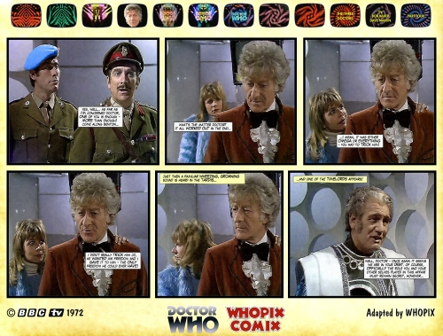 doctor who three doctors comic strip 4.23
