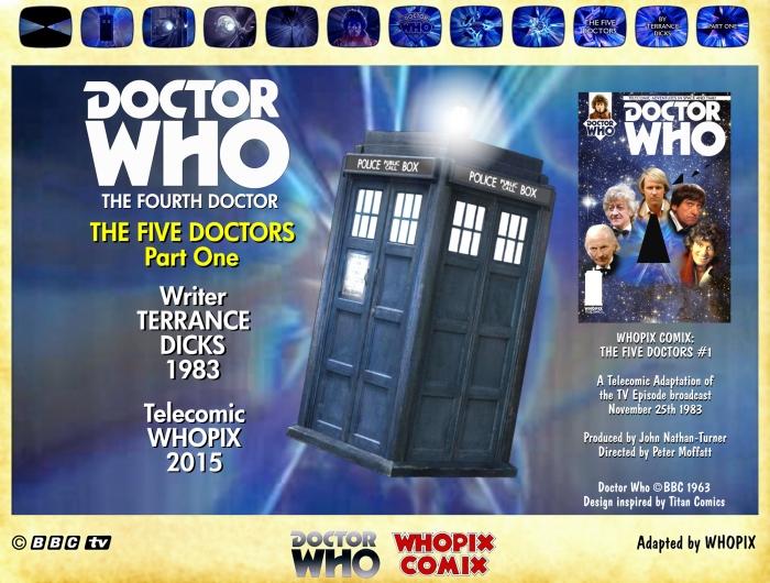 doctor who five doctors comic strip tom baker 1.01