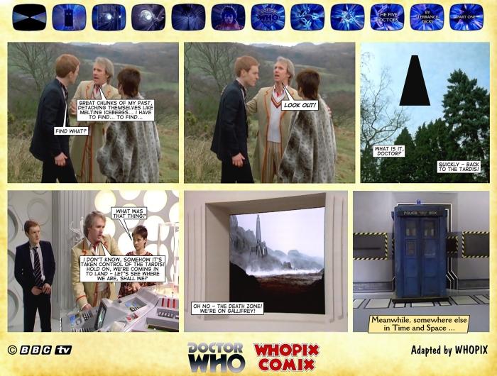 doctor who five doctors comic strip tom baker 1.02