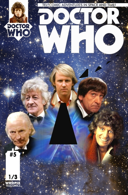doctor who titan comics five doctors telecomic 1