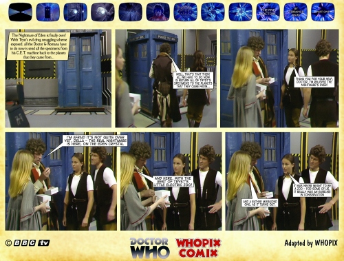 doctor who five doctors comic strip tom baker 1.03