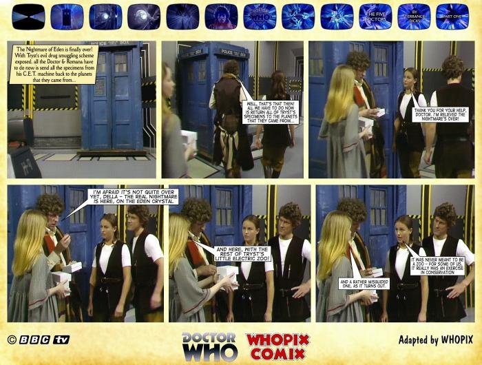 doctor who five doctors comic strip tom baker 1.03