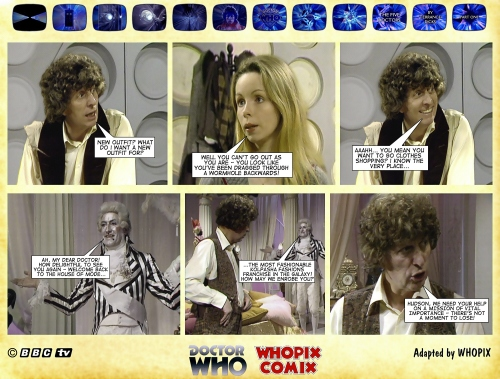 doctor who five doctors comic strip tom baker 1.05