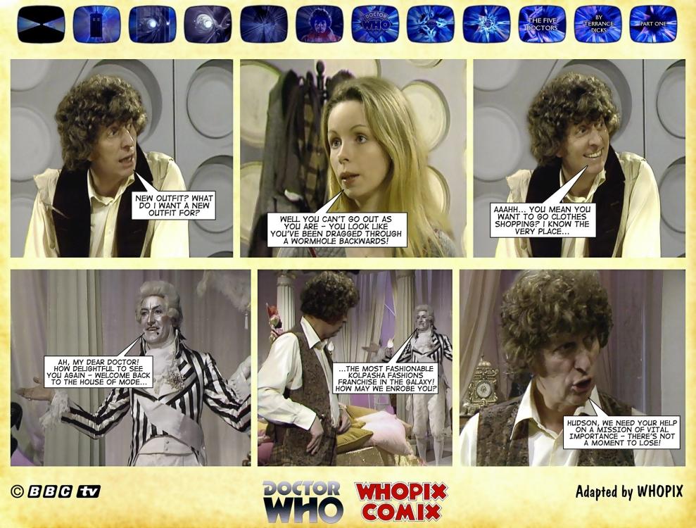 doctor who five doctors comic strip tom baker 1.05
