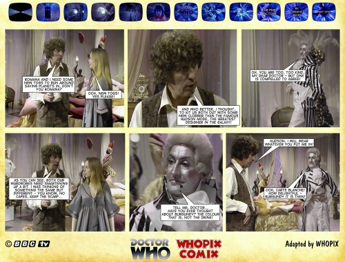 doctor who five doctors comic strip tom baker 1.06