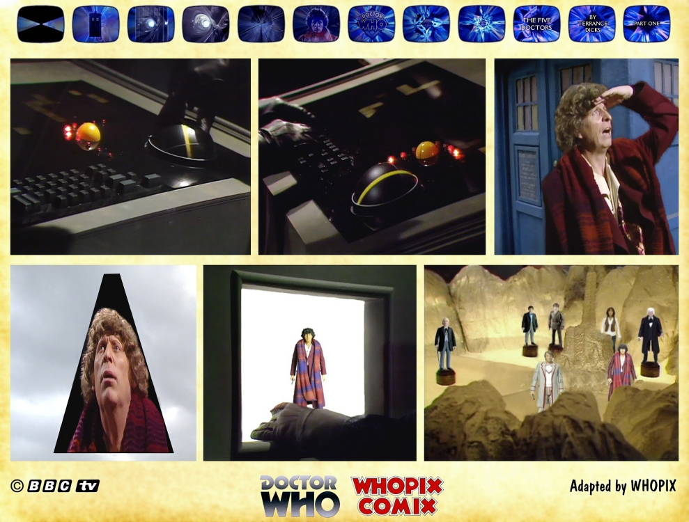 doctor who five doctors comic strip tom baker 1.08
