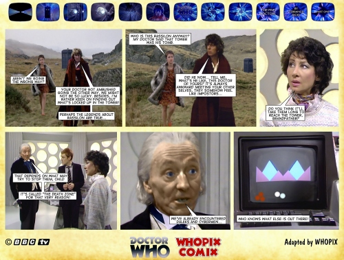 doctor who five doctors comic strip tom baker 1.13