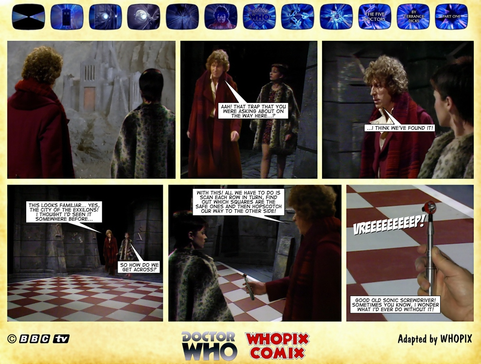 doctor who five doctors comic strip tom baker 1.15