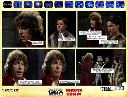 doctor who five doctors comic strip tom baker 1.16