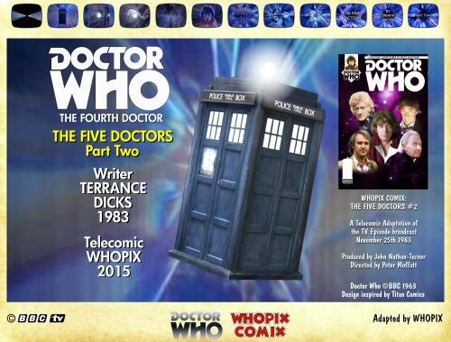 doctor who titan comics five doctors comic strip 2.00