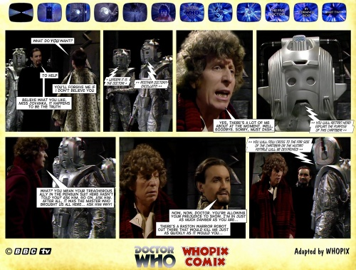 doctor who titan comics five doctors comic strip 2.01