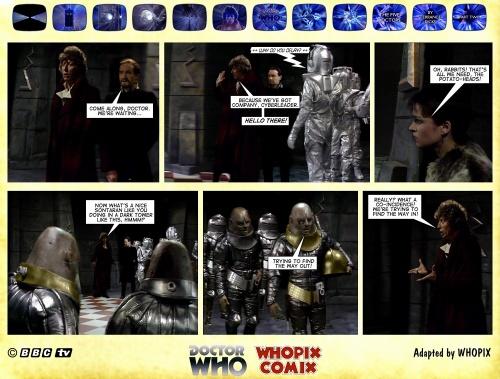 doctor who titan comics five doctors comic strip 2.02