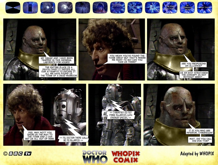 doctor who titan comics five doctors comic strip 2.03