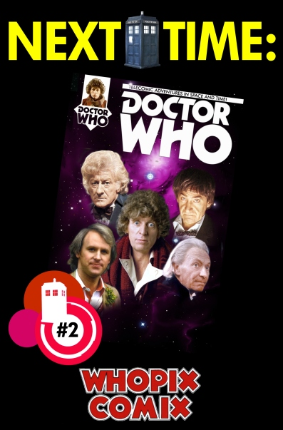 doctor who titan comics five doctors telecomic 1 next time