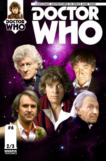 doctor who titan comics five doctors telecomic 2