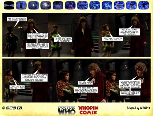 doctor who titan comics five doctors comic strip 2.07