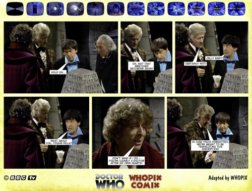 doctor who titan comics five doctors comic strip 2.12