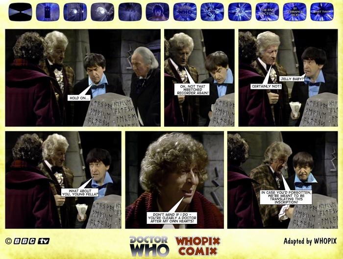 doctor who titan comics five doctors comic strip 2.12