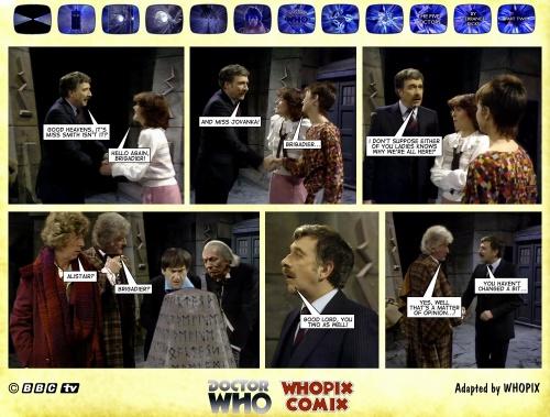 doctor who titan comics five doctors comic strip 2.13