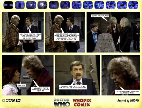 doctor who titan comics five doctors comic strip 2.14