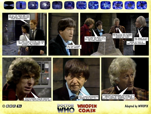 doctor who titan comics five doctors comic strip 2.16