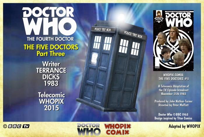 doctor who titan comics five doctors comic strip 3.00