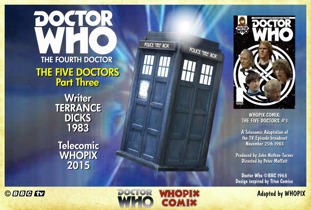 doctor who titan comics five doctors comic strip 3.00