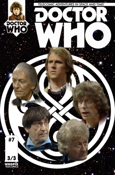 doctor who titan comics five doctors telecomic 3