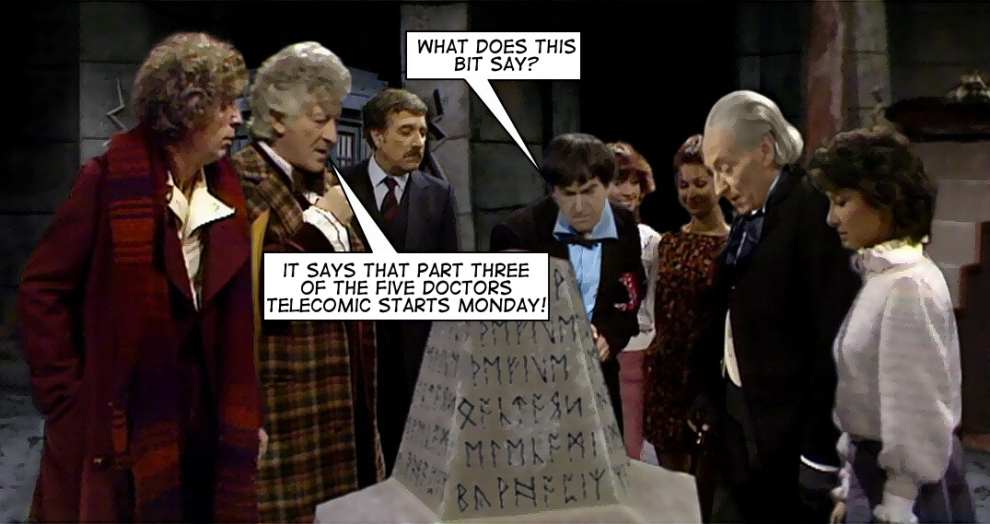 five doctors part three whopix