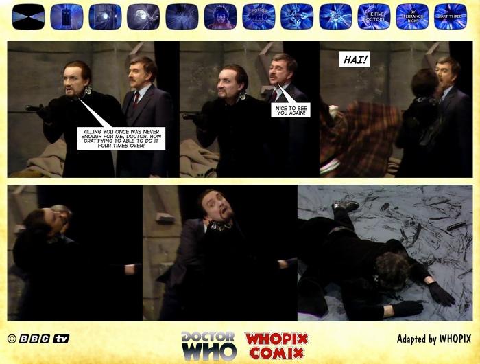 doctor who titan comics five doctors comic strip 3.01