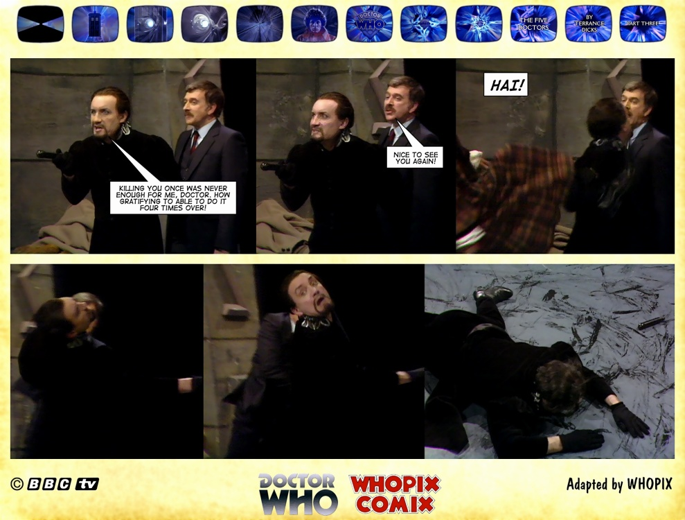 doctor who titan comics five doctors comic strip 3.01