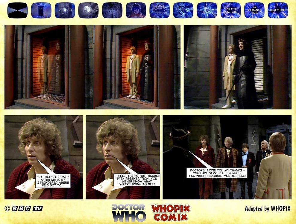 doctor who titan comics five doctors comic strip 3.02