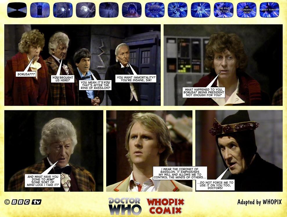 doctor who titan comics five doctors comic strip 3.03