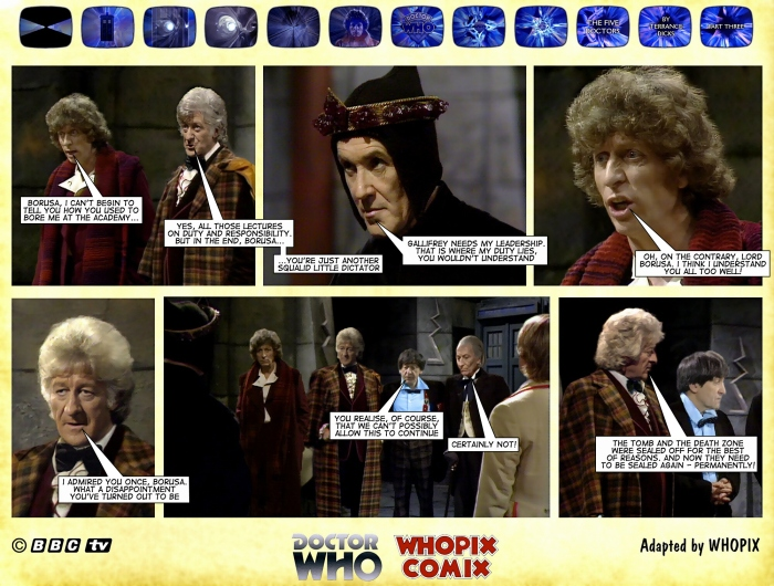 doctor who titan comics five doctors comic strip 3.04