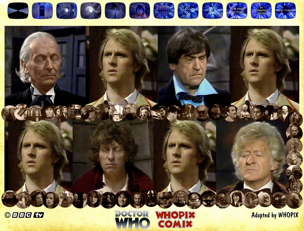 doctor who titan comics five doctors comic strip 3.06