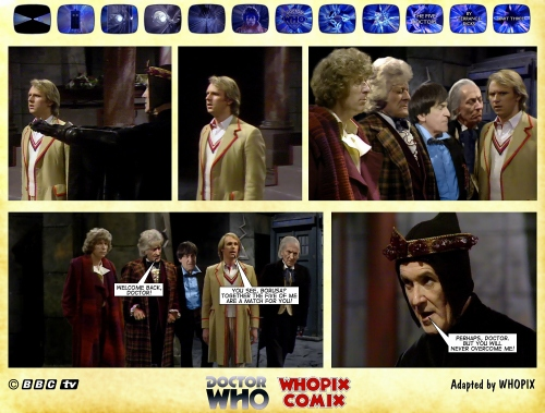 doctor who titan comics five doctors comic strip 3.07