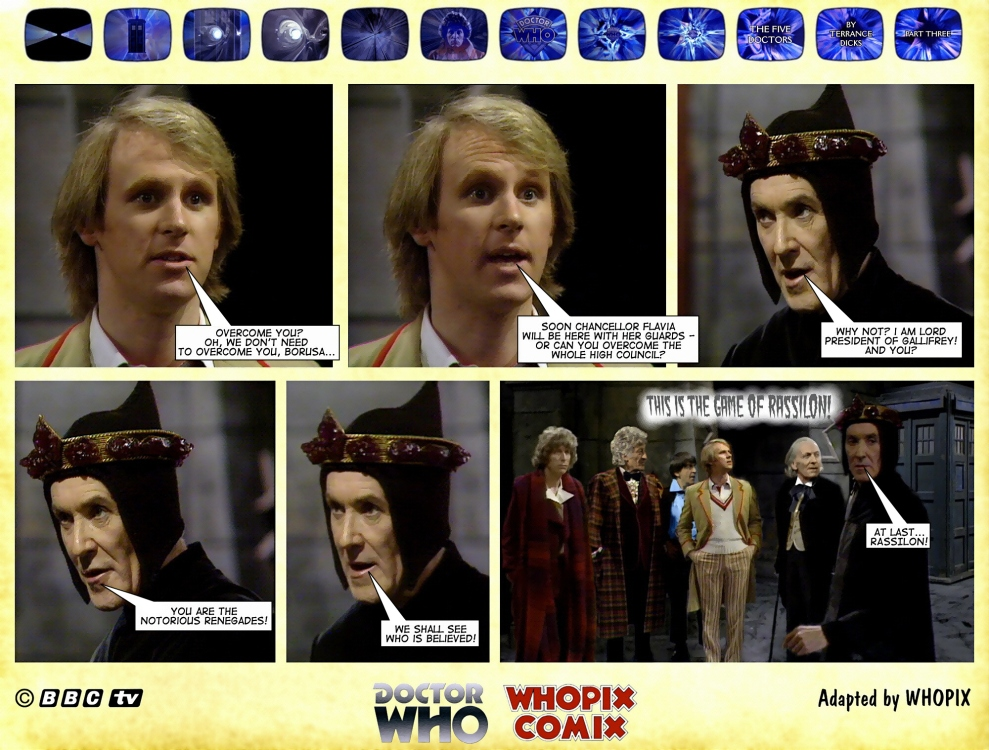 doctor who titan comics five doctors comic strip 3.08