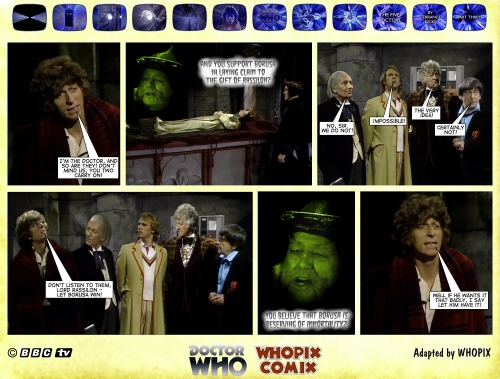 doctor who titan comics five doctors comic strip 3.10