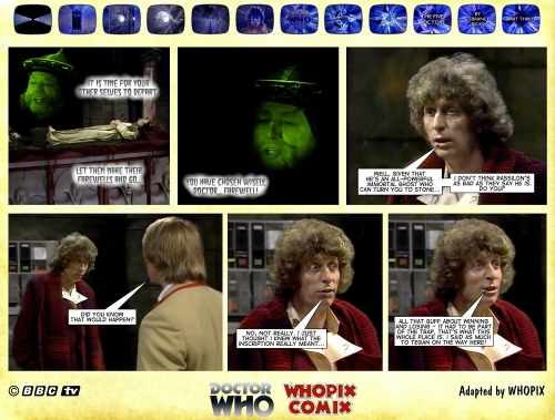 doctor who titan comics five doctors comic strip 3.15