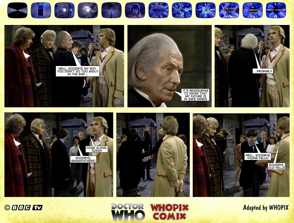 doctor who titan comics five doctors comic strip 3.17
