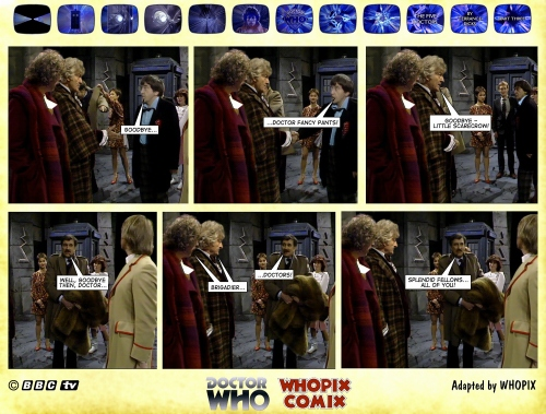 doctor who titan comics five doctors comic strip 3.18