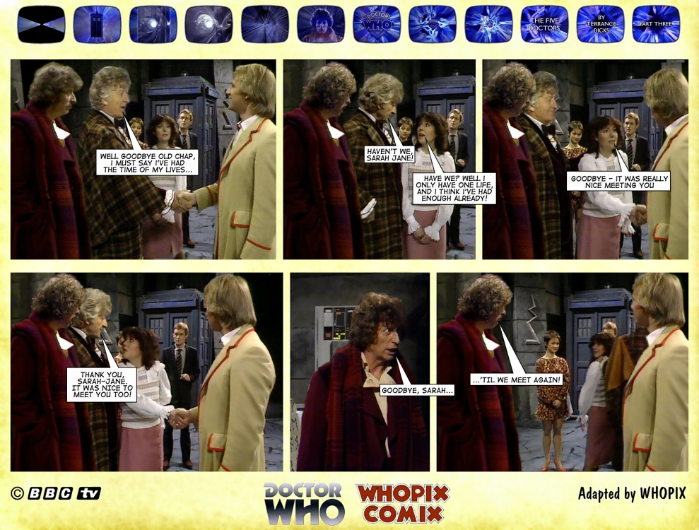 doctor who titan comics five doctors comic strip 3.19