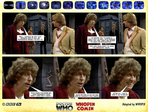 doctor who titan comics five doctors comic strip 3.20