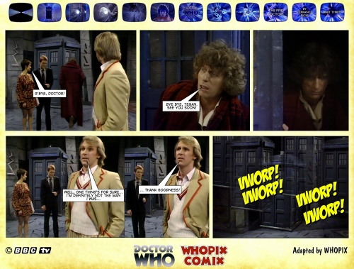 doctor who titan comics five doctors comic strip 3.21